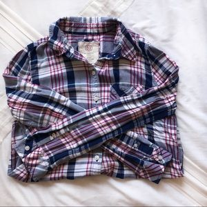 Blue, Red & White Flannel